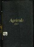 1922 Agricola by Second District Agricultural School